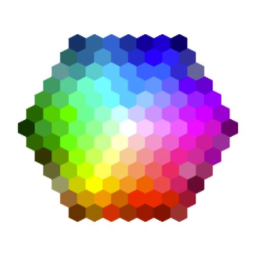 principais cores html