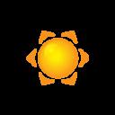 Animação em CSS3 - Sol