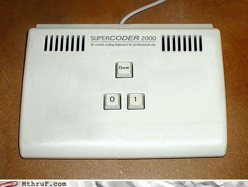 teclado de programador