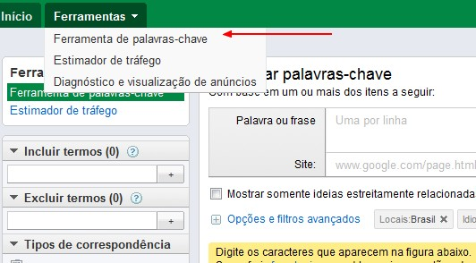 adwords google como usar