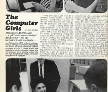 Mulheres em TI - Anos 60